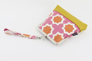Unique Geometric Pattern Wristlet  | PINKOASIS