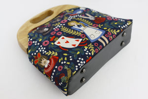 Alice in Wonderland Oversized Clutch Bag  | PINKOASIS