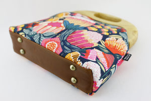 Oz Protea Garden Oversized Clutch Bag  | PINKOASIS