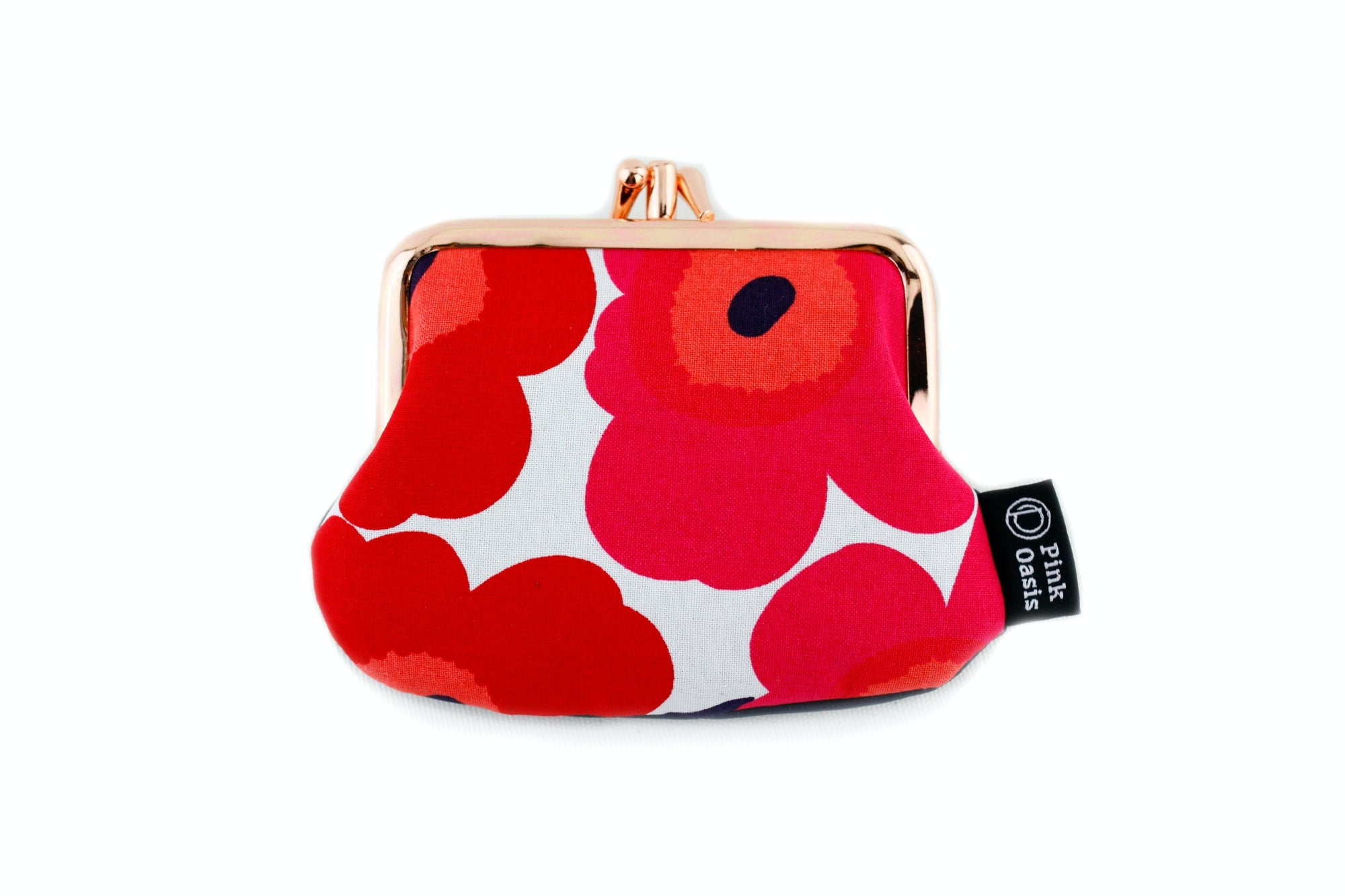 Poppy Red Coin Purse  | PINKOASIS