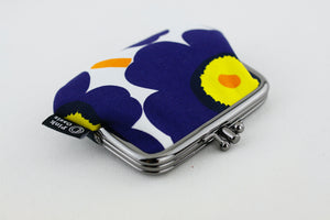 Poppy Blue Coin Purse  | PINKOASIS