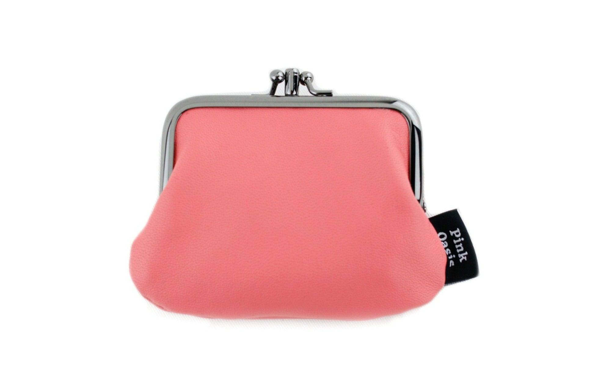 Pink Leather Coin Purse  | PINKOASIS