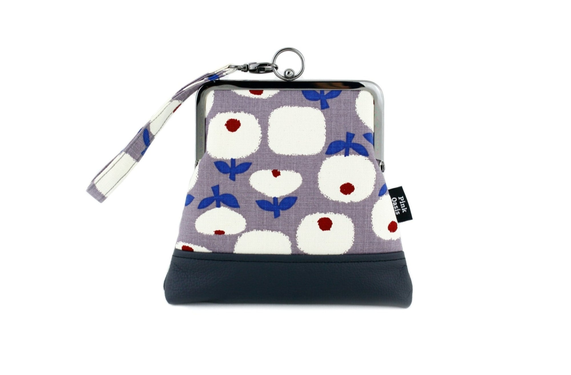 Lovely Little Flowers Wristlet Bag with Chain Strap | PINKOASIS