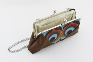 Peacock Kisslock Clutch  | PINKOASIS