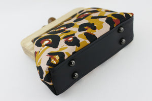 Abstract Leopard Clutch  | PINKOASIS