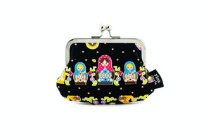 Matryoshka Dolls Coin Purse  | PINKOASIS