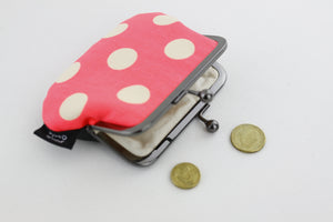 Polka Dots Coin Purse  | PINKOASIS