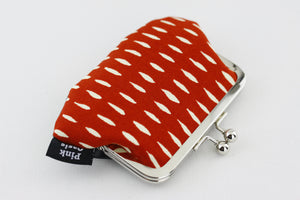 Red & White Coin Purse | PINKOASIS