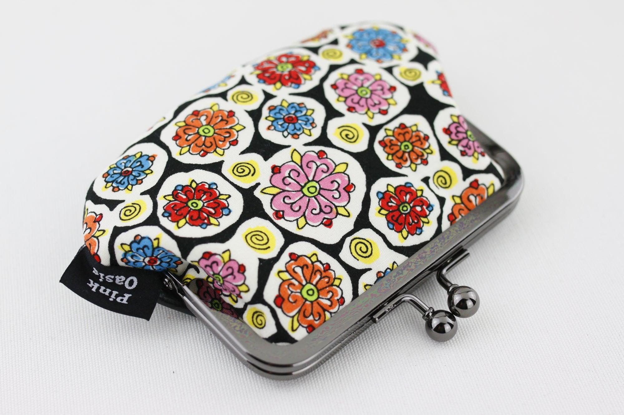 Colorful Flowers Coin Purse  | PINKOASIS