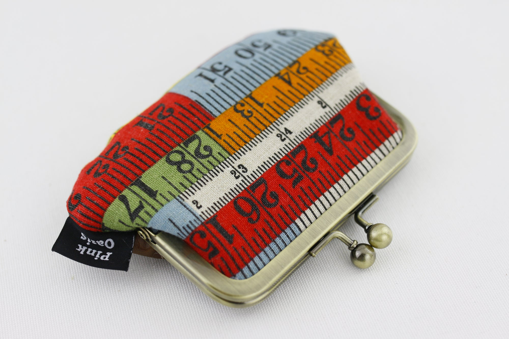 Retro Measuring Tapes Coin Purse Handmade in Australia | PINKOASIS