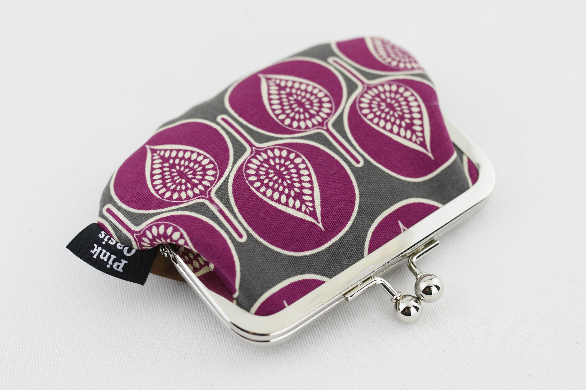 Purple Leaves Coin Purse Handmade in Australia | PINKOASIS