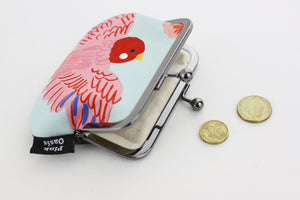 Lovely Cockatiel Coin Purse Handmade in Australia | PINKOASIS