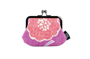 Purple Flower Coin Purse | PINKOASIS