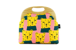 Chita Cute Animal Pattern Large Bag with Leather Strap | PINKOASIS