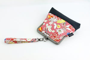 May Gibbs Gumnut Babies Pink Wristlet with Chain Strap | PINKOASIS