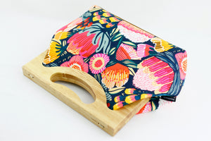 Australian Protea Garden Medium Women's Clutch Bag | PINKOASIS
