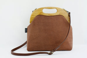 Women's Luxury Goat Leather Bag | PINKOASIS