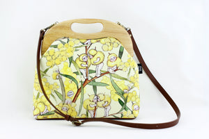 May Gibbs Wattle Babies Large Wood Frame Bag | PINKOASIS