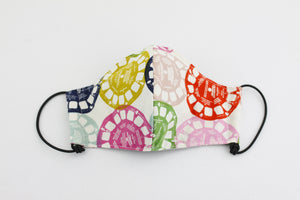 Reusable Face Mask (Regular Size) - Retro Colorful View Finders
