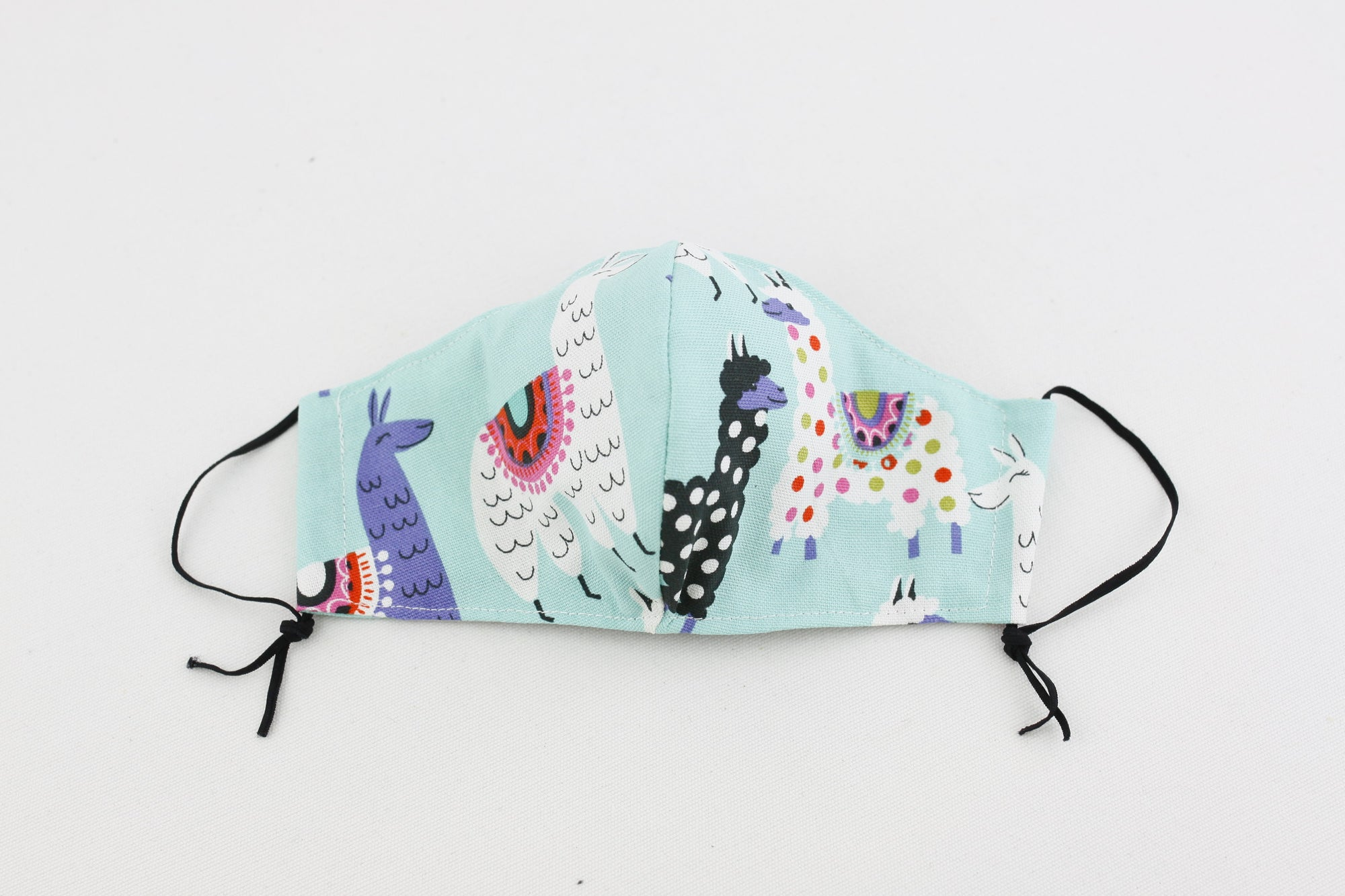 Reusable Face Mask (Kid Size) - Llama
