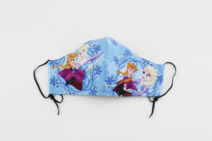 Reusable Face Mask (Kid Size) - Elsa and Anna