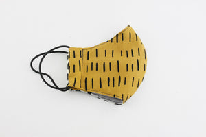 Reusable Face Mask (Regular Size) - Geometric Mix & Match C