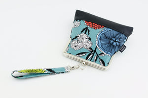 The English Garden Floral Wristlet with Chain Strap | PINKOASIS