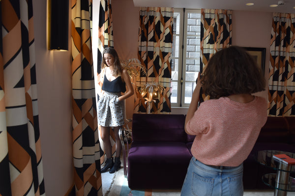 Shooting de la collection hiver 2017: L'envers du décor