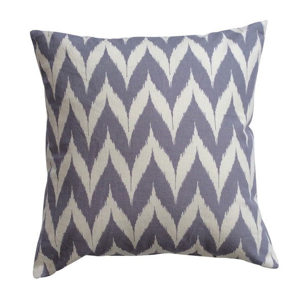 Serenity Ikat Print Cushion