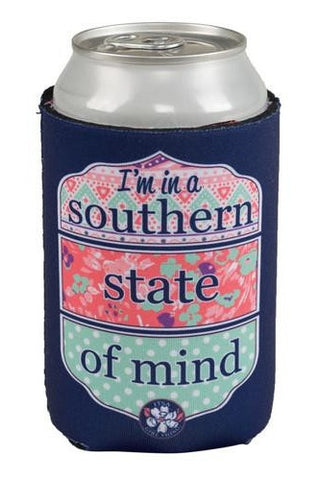 I'm In A Southern State Of Mind Koozie