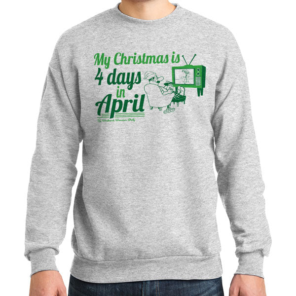 4 Days in April Crewneck