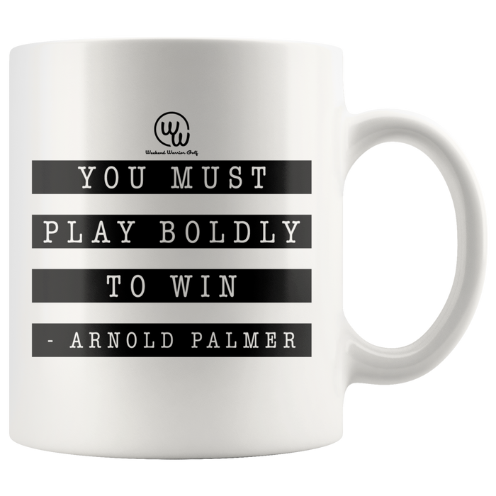 Arnold Palmer - Play Boldly to Win Mug