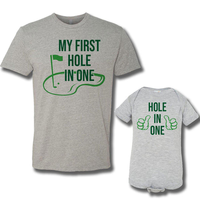 Hole In One (Matching Set) - Gray