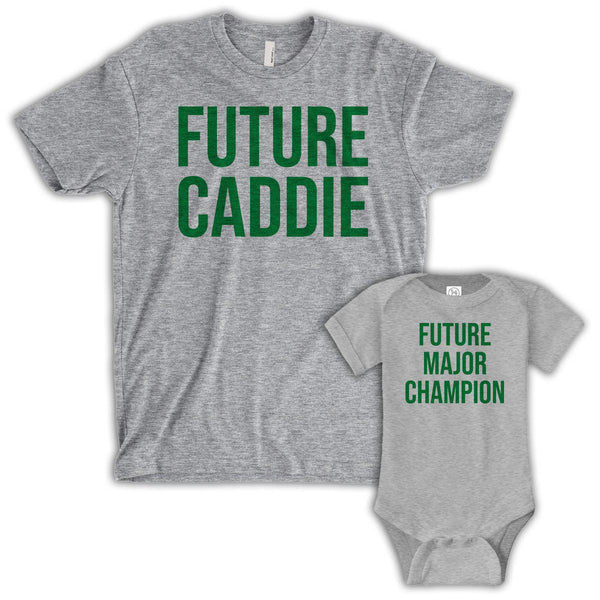 Future Caddie/Major Champion (Matching Set) - Gray