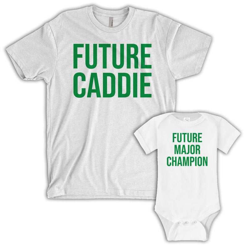 Future Caddie/Major Champion (Matching Set) - White