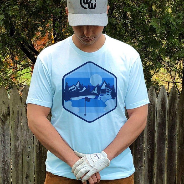 The Nature Tee - Blue