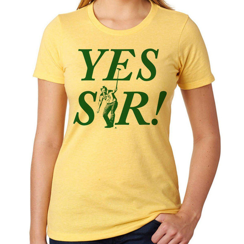 Yes Sir! Womens T-Shirt