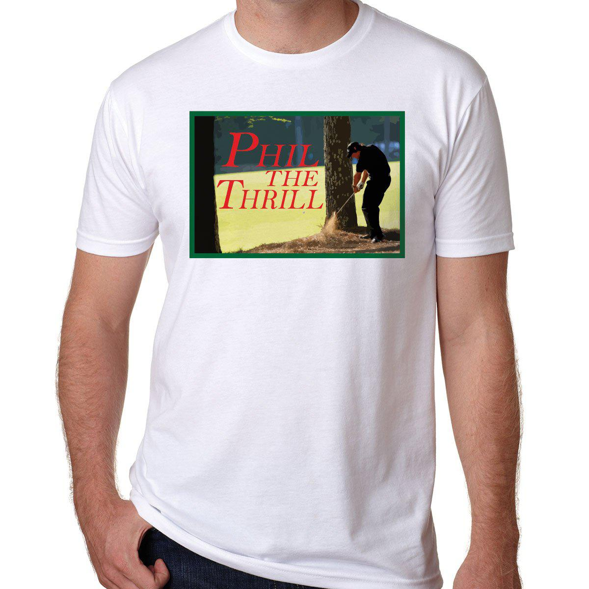 "Phil ""The Thrill"" Mickelson Augusta t-shirt"