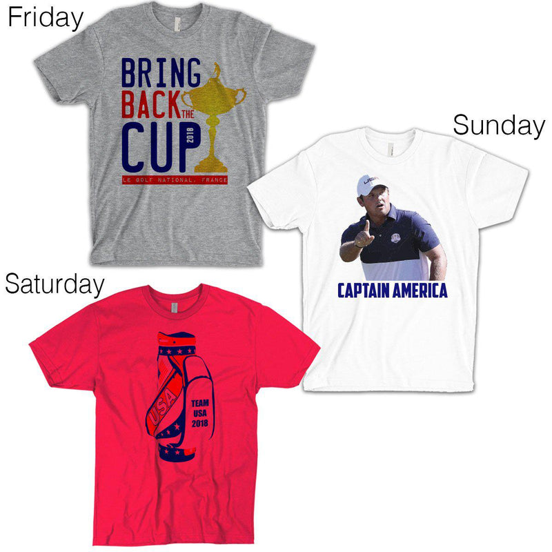 Ryder Cup Combo Pack - A Shirt For Each Day!