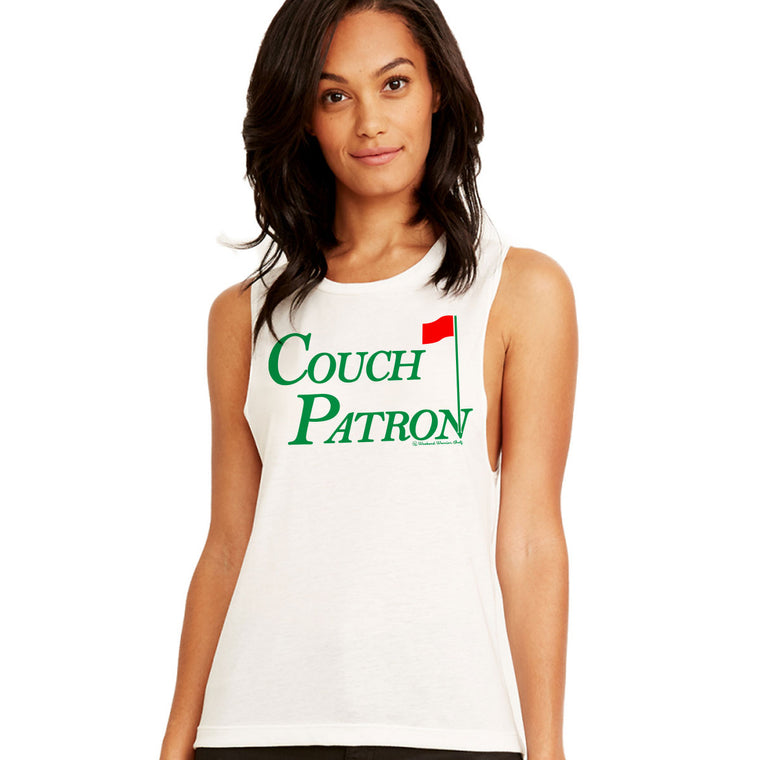 Women's Couch Patron Muscle Tank
