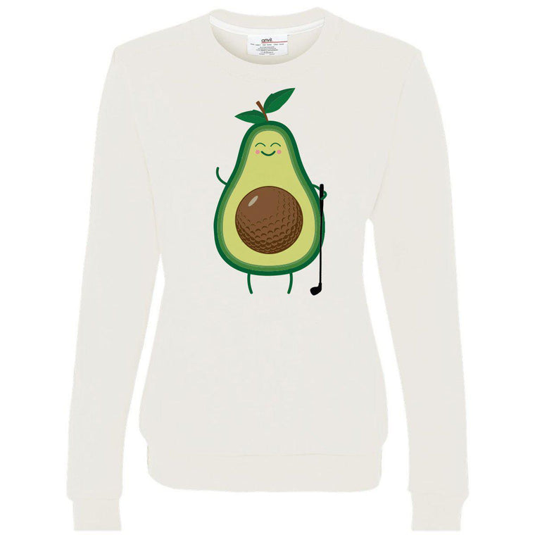 Avocado Golf Women's Crewneck Sweatshirt