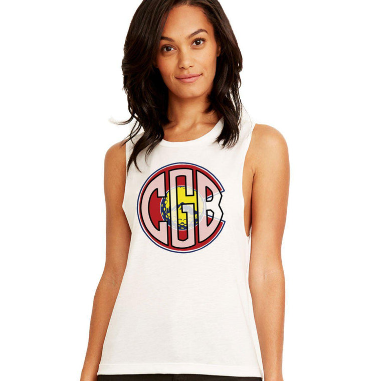 Colorado Golf Blog Women's Muscle Tank