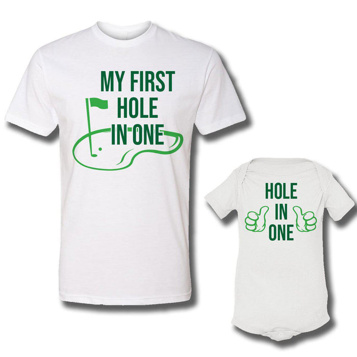 Hole In One (Matching Set) - White