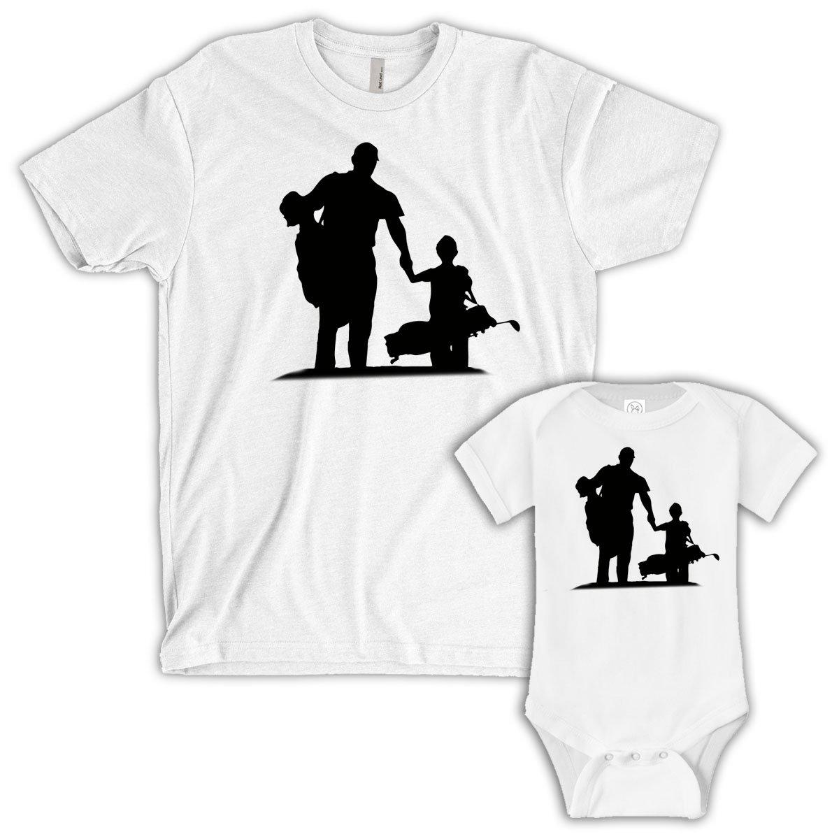 Partners, Father/Child (Matching Set) - White