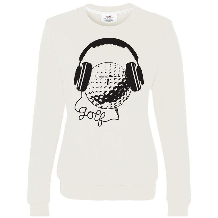 Golf & Music Women's Crewneck Sweatshirt