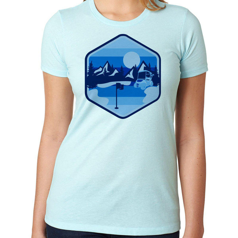 Golf In Nature - Blue - Women's
