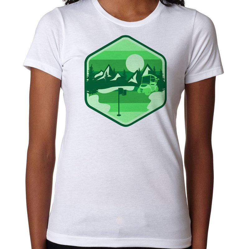 Golf In Nature - Green - Women's