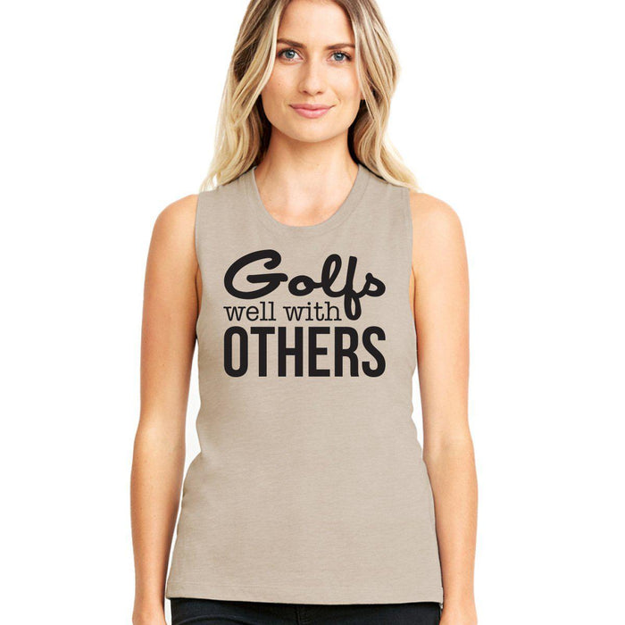 Golfs Well With Others Women's Muscle Tank