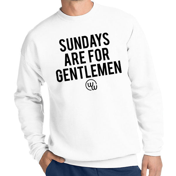 Sundays Are For Gentlemen Crewneck