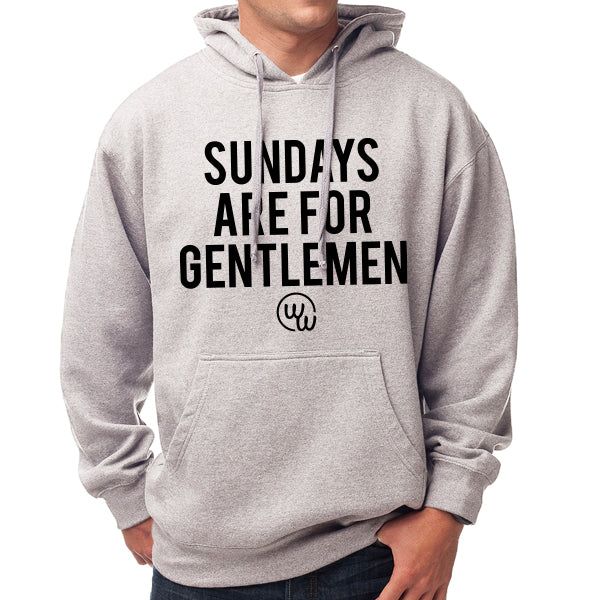 Sundays Are For Gentlemen Hoodie